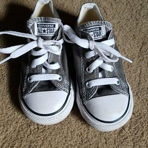 ⭐Toddlers gray converse